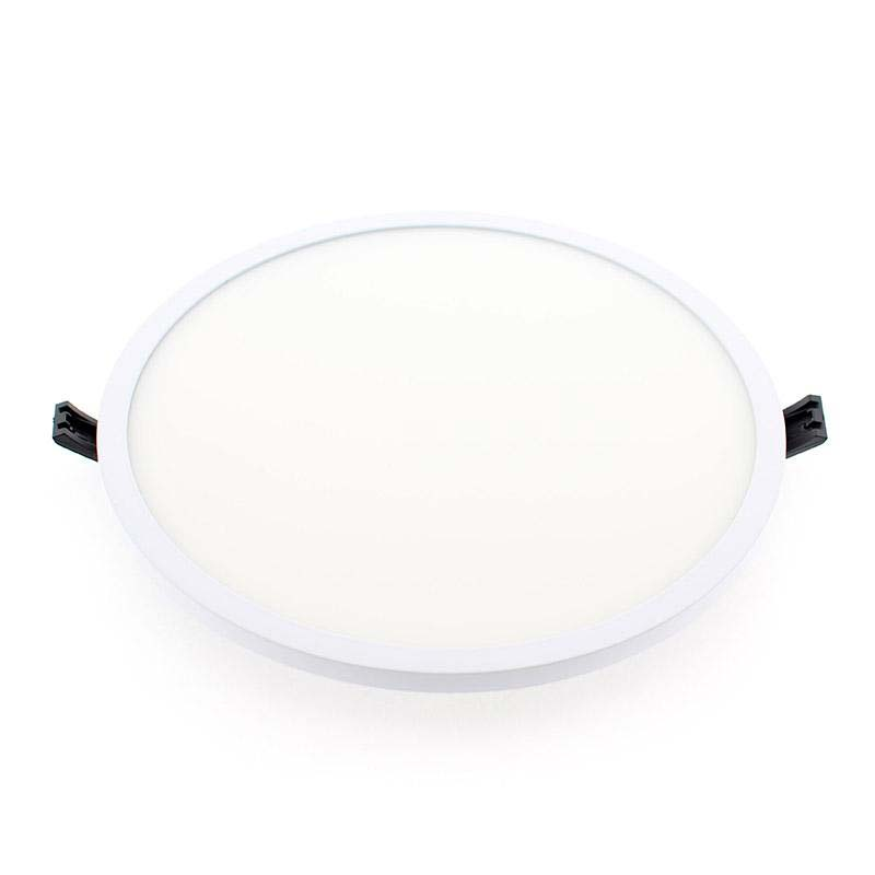 Downlight Led SLIM ROUND EPR 24W, Blanco cálido
